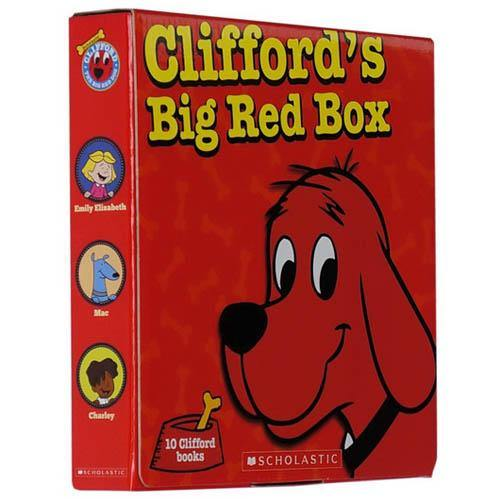 Clifford's Big Red Box (10 Books)-BuyBookBook