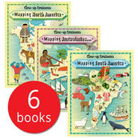 Close Up Continents Collection (6 book)-BuyBookBook