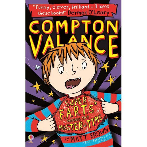 Compton Valance 03 - Super F.A.R.T.S versus the Master of Time-BuyBookBook