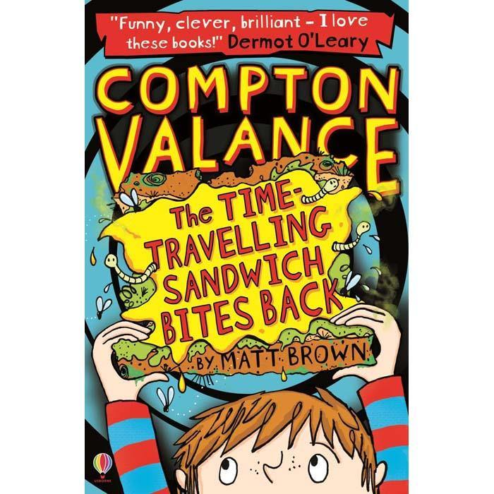 Compton Valance 02 - The Time-Travelling Sandwich Bites Back-BuyBookBook