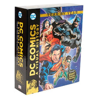 DC Comics: A Visual History Collection (8 Books)-BuyBookBook
