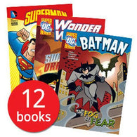 DC Superheroes Collection (12 Books)-BuyBookBook