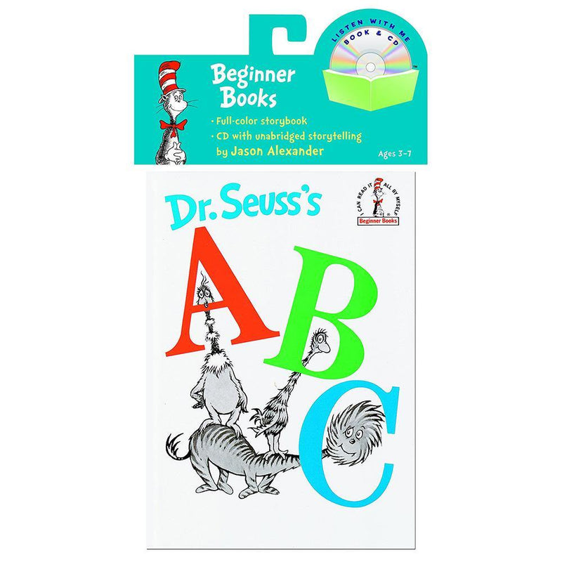 DR. Seuss's ABC (BOOK with CD)-BuyBookBook