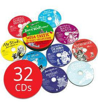 David Walliams Mega-tastic CD Story Collection (32 CD)-BuyBookBook