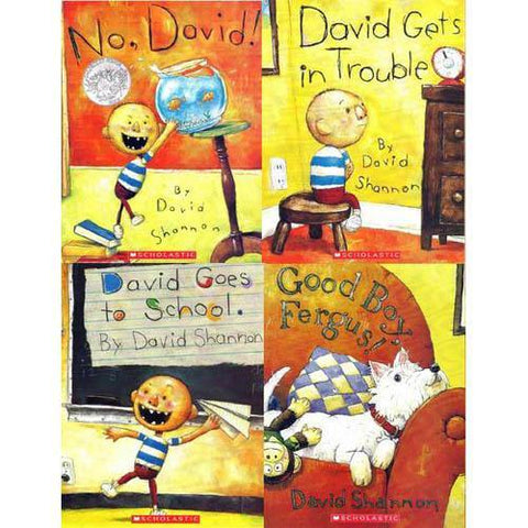 Best of David Shannon Collection 1 (4 Book)-BuyBookBook