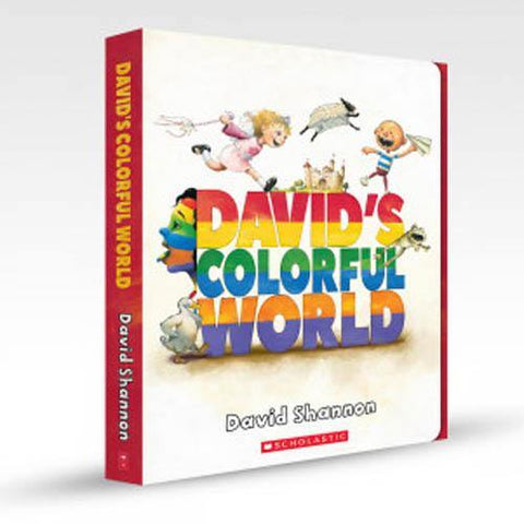 David's Colorful World Collection (5 Book + 1 CD)-BuyBookBook