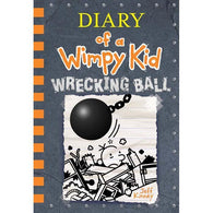 Diary of a Wimpy Kid #14 Wrecking Ball-BuyBookBook