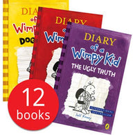 Diary of a Wimpy Kid Bundle (12 Books)-BuyBookBook