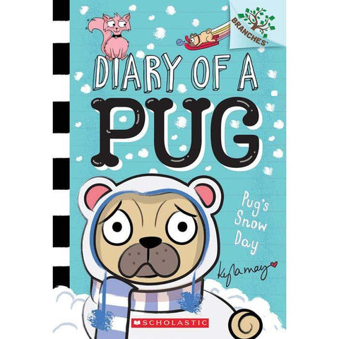 Diary of a Pug #2 Pug's Snow Day (Branches)-BuyBookBook