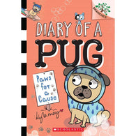 Diary of a Pug #3 Paws for a Cause-BuyBookBook