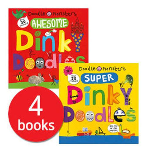 Dinky Doodles Collection (4 Books)-BuyBookBook