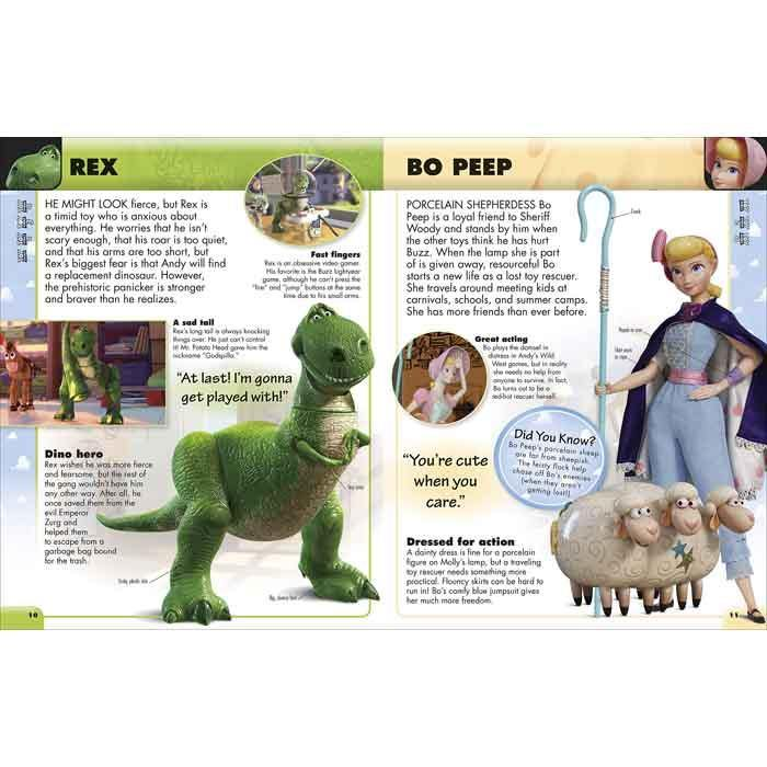 Disney Pixar Character Encyclopedia New Ed (Hardback)-BuyBookBook