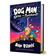 Dog Man #09 Grime and Punishment (Hardback)-BuyBookBook