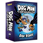 Dog Man #4-6 The Cat Kid Collection (3 Books Hardback)-BuyBookBook