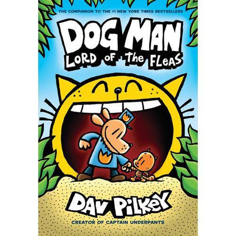 Dog Man #05 Lord of the Fleas (Paperback)-BuyBookBook