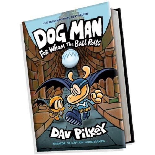 Dog Man #7 For Whom the Ball Rolls (Hardback)-BuyBookBook