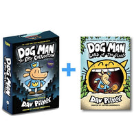 Dog Man #1-5 (5 book bundle)-BuyBookBook