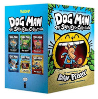 Dog Man The Supa Epic Collection (6 Books Hardback)-BuyBookBook