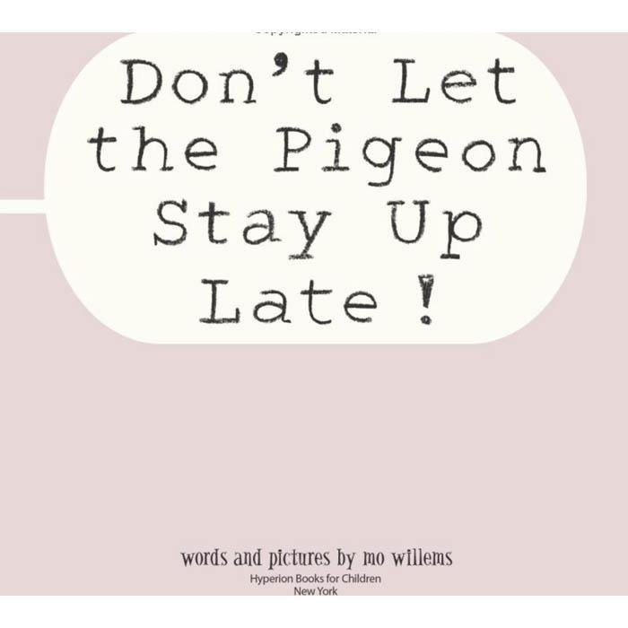 Don't Let the Pigeon Stay Up Late! (Hardback)-BuyBookBook