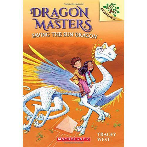 Dragon Masters #02 Saving The Sun Dragon (Book + CD)-BuyBookBook