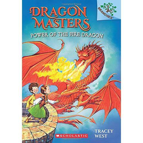 Dragon Masters #04 Power of the Fire Dragon (Book + CD)-BuyBookBook