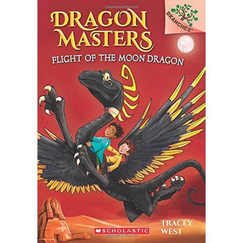 Dragon Masters #06 Flight of the Moon Dragon (Branches)-BuyBookBook