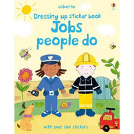 Dress up sticker book Jobs people do-BuyBookBook