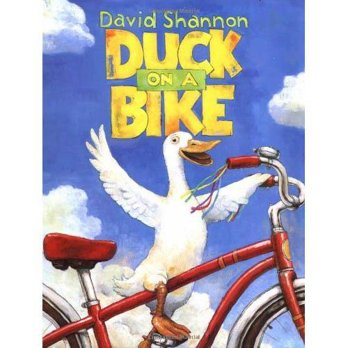 Duck on a Bike (Hardback)-BuyBookBook