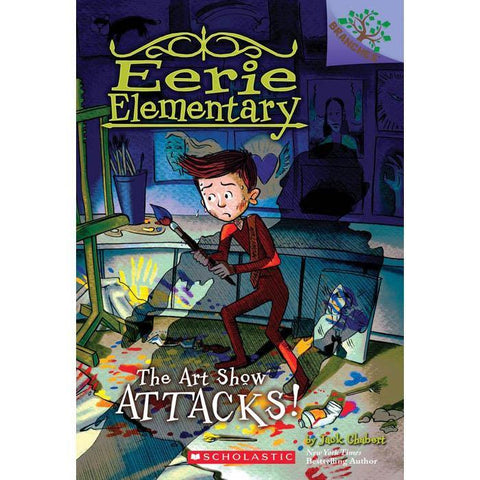 Eerie Elementary #09 The Art Show Attacks! (Branches)-BuyBookBook