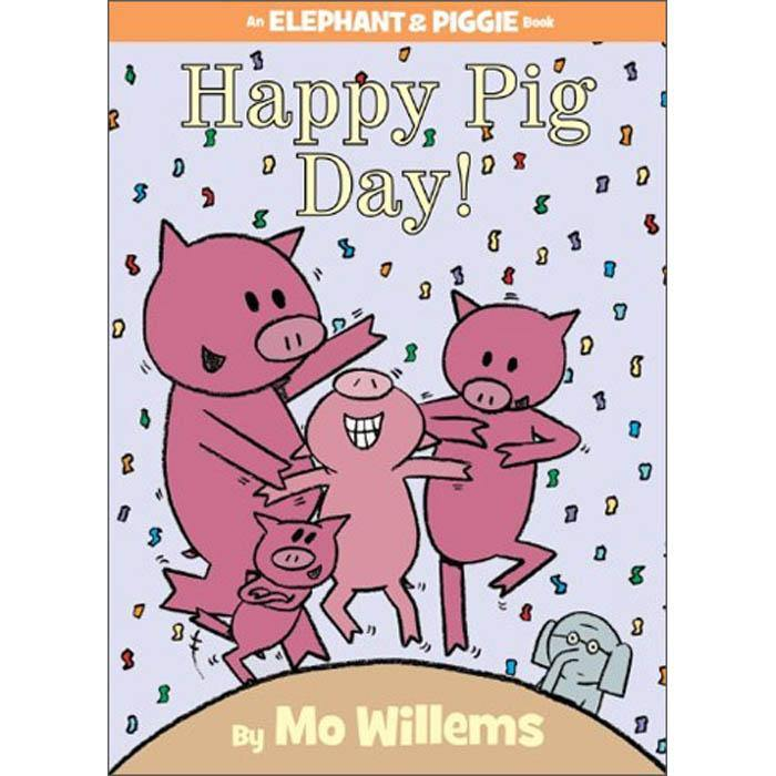 Elephant and Piggie Happy Pig Day! (Hardback) (Mo Willems)-BuyBookBook