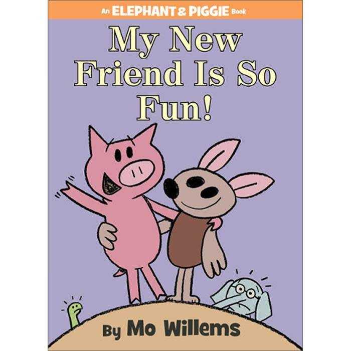 Elephant and Piggie My New Friend Is So Fun! (Hardback)-BuyBookBook