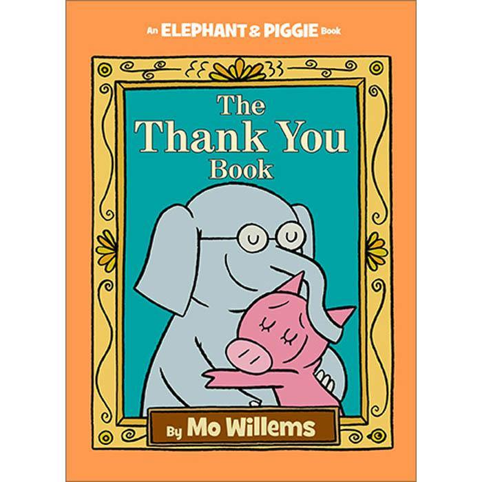 Elephant and Piggie The Thank You Book (Hardback) (Mo Willems)-BuyBookBook
