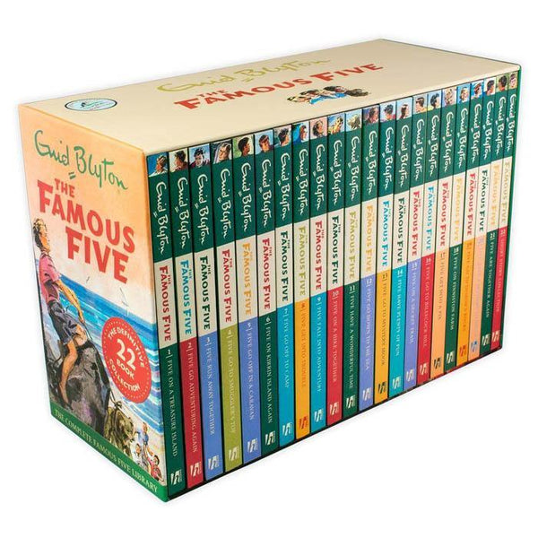 Enid Blyton The Famous Five Collection (22 book)-BuyBookBook