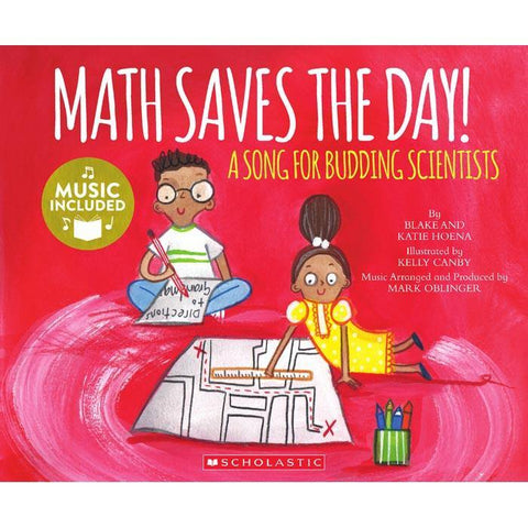 My First Stem Song Math Saves the Day! (Book + CD)-BuyBookBook