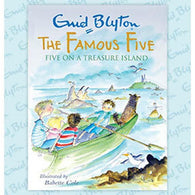 Famous Five on a Treasure Island Colour Gift Edition (Full Color)-BuyBookBook
