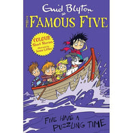 Famous Five Short Stories: Five Have a Puzzling Time (Full Color)-BuyBookBook