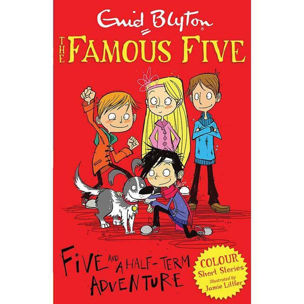 Famous Five Short Stories: Five and a Half-Term Adventure (Full Color)-BuyBookBook