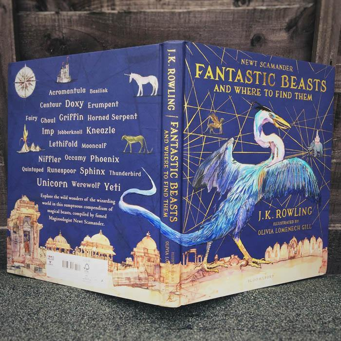 Fantastic Beasts and Where to Find Them Illustrated Edition (Hardback)-BuyBookBook