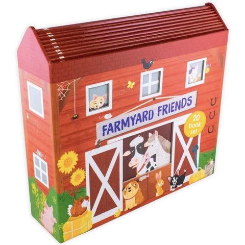 Farmyard Friends in a Barn Collection (20 Books)-BuyBookBook