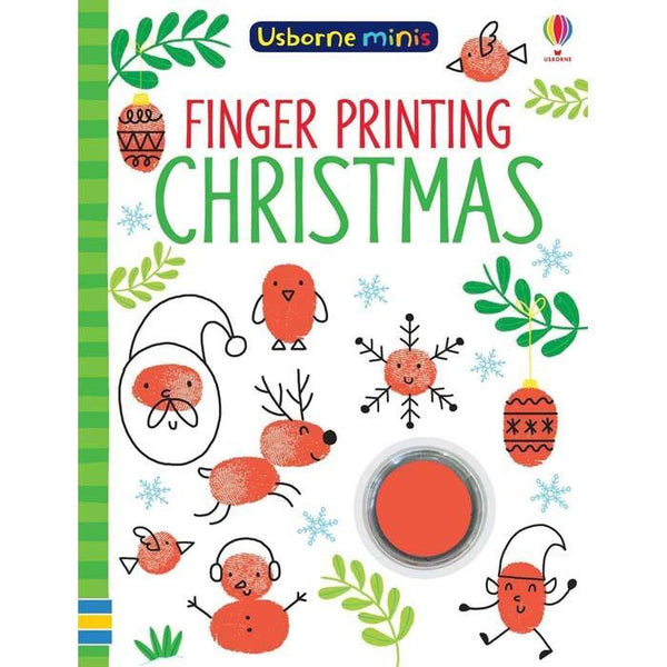 Finger printing Christmas (Mini)-BuyBookBook
