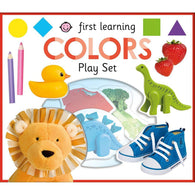 First Learning Colors play set (Hardback)-BuyBookBook