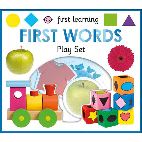 First Learning First Words play set (Hardback)-BuyBookBook