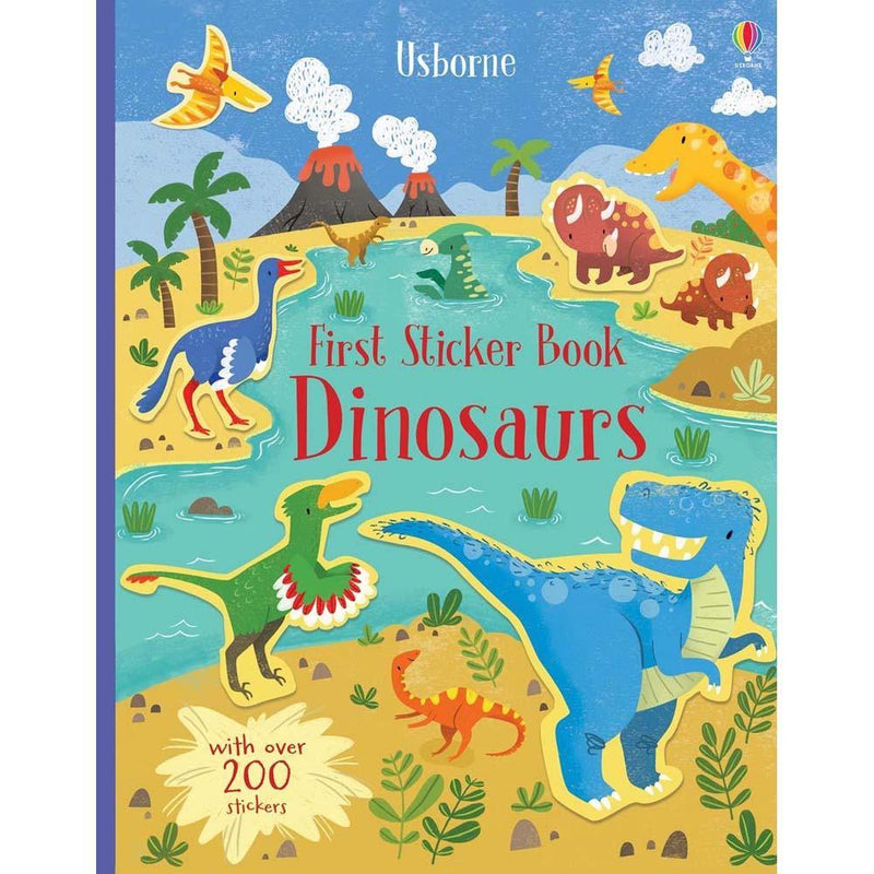 First Sticker Book Dinosaurs-BuyBookBook