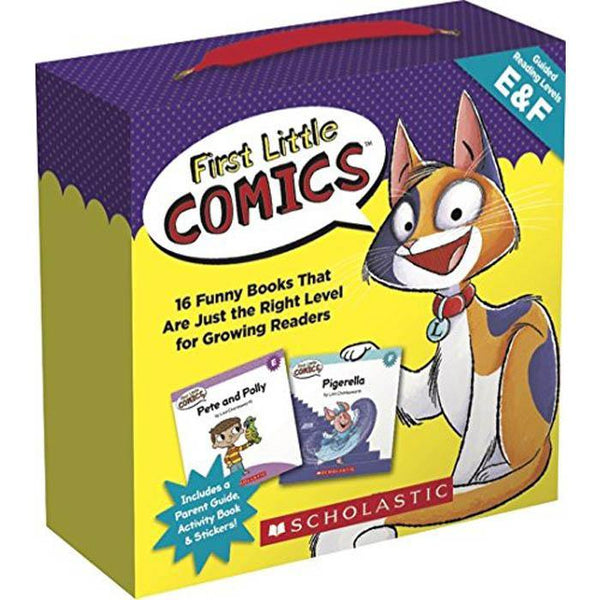 First Little Comics Guided Reading Lv E & F (16 book + 1 CD)-BuyBookBook