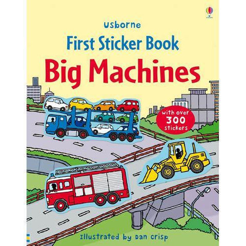 First Sticker Book Big Machines-BuyBookBook