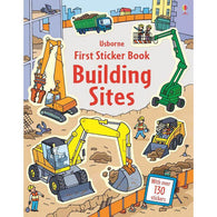 First Sticker Book Building Sites-BuyBookBook
