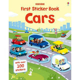 First Sticker Book Cars-BuyBookBook