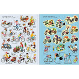 First Sticker Book Cycling-BuyBookBook