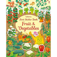 First Sticker Book Fruit and Vegetables-BuyBookBook
