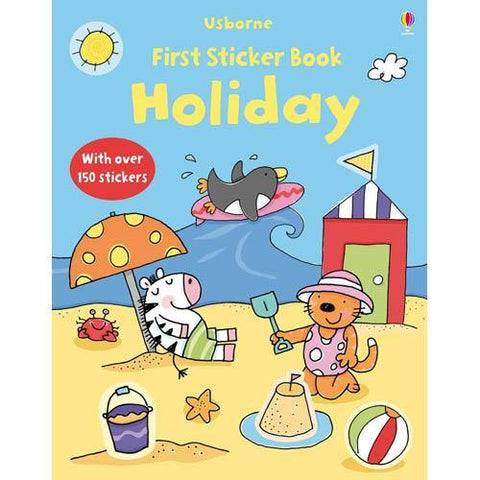 First Sticker Book Holiday-BuyBookBook